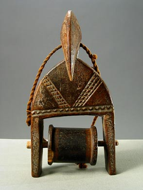 Senufo Hornbill Heddle Pulley