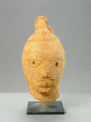 Nok Terracotta Head of a Woman