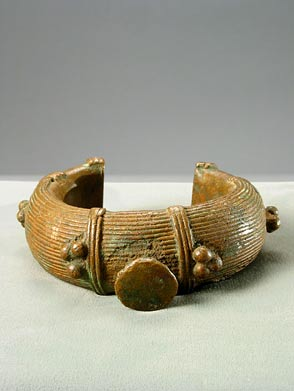 Dogon Bronze Money Bracelet