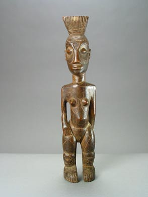 Mangbetu Female Ancestral Sculpture