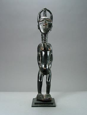 Kulango Wooden Sculpture of a Woman