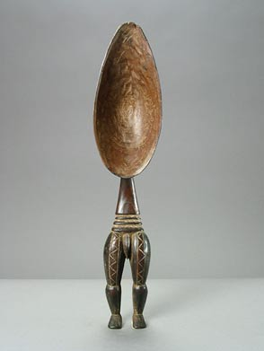 Dan Wooden Ceremonial Spoon