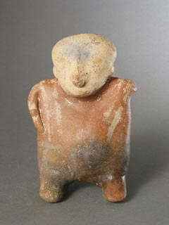Nayarit Terracotta Sculpture of a Standing Man