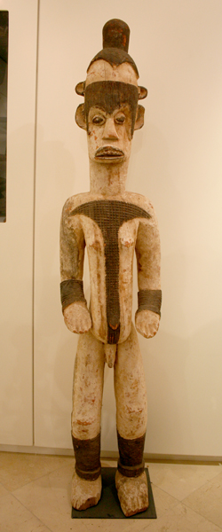 Igbo Painted Shrine Sculpture (Alusi)