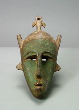 Marka Mask Covered with Metal Plaques