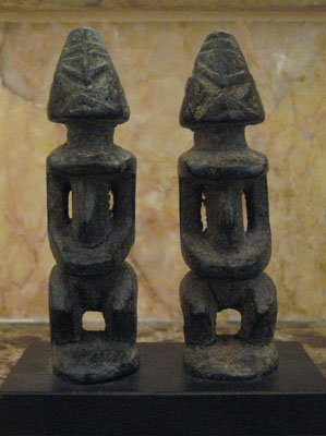 Pair of Small Dogon Sculptures