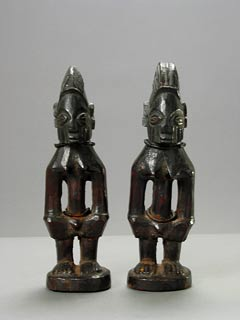 Pair of Yoruba Ibeji Twin Sculptures