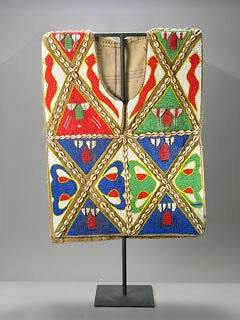 Yoruba Ceremonial Beaded Vest