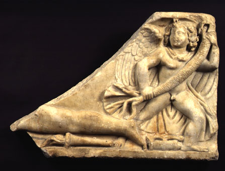 Roman Marble Sarcophagus Fragment