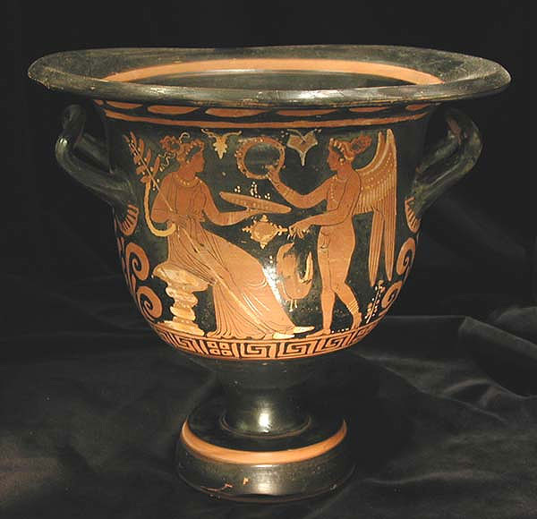 Red-Figure Bell Krater By The Vatican Painter