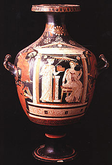 Apulian Hydria by the Baltimore Painter