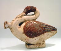 Corinthian Sculpture of a Swan
