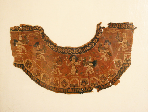 Roman Period Textile Fragment Depicting Venus
