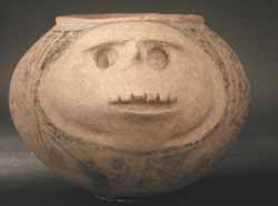 Casas Grandes Polychrome Pot With Face