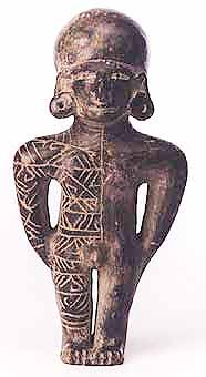 Manteno Ceramic Standing Male Figure