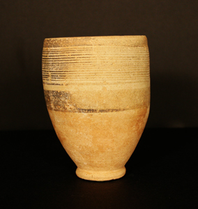Middle Bronze Age Terracotta Goblet