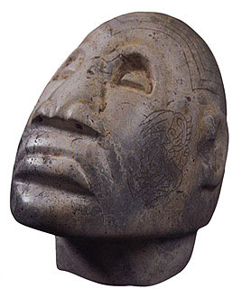 Olmecoid Stone Head
