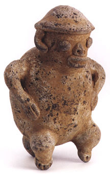 Guanacaste Monkey Effigy Whistle