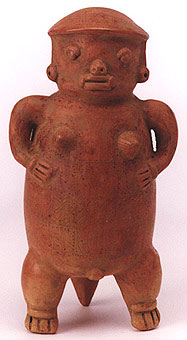 Terracotte Female Figurine