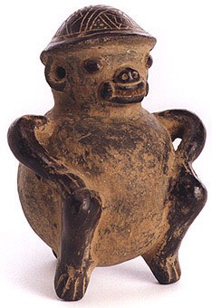Guanacaste-Nicoya Sculpture of a Monkey