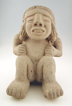 Aztec Squatting Female
