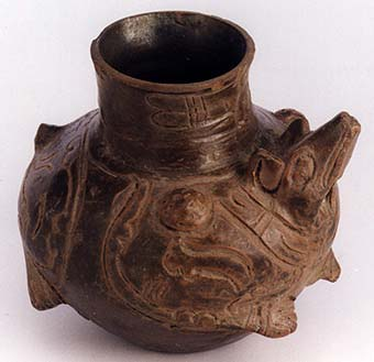 Toltec Animal Effigy Vessel