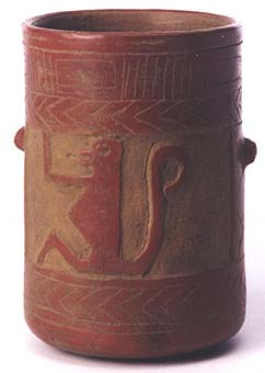 Guanacaste-Nicoya Vessel with Carved Deocorations