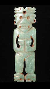 Atlantic Watershed Jade Figure Pendant