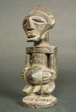 Songye Wooden Bishimba Sculpture