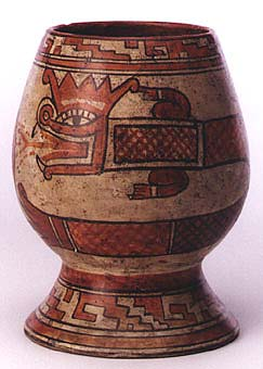 Jar With Plumed Serpent