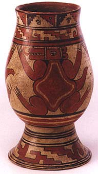 Papagayo Vessel with Reptile Motif