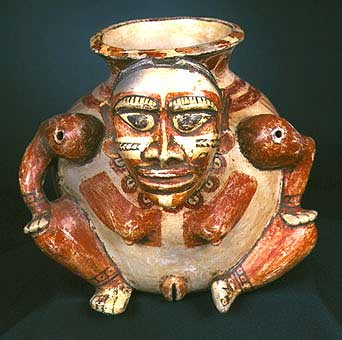 Seated Female Effigy Vessel