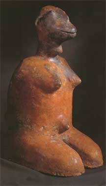 Tenenku Terracotta Sculpture of a Female Captive