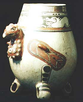 Guanacaste-Nicoya Turkey Buzzard Effigy Vessel