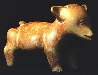 Colima Sculpture of a Standing Dog