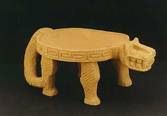 Basalt Jaguar Metate