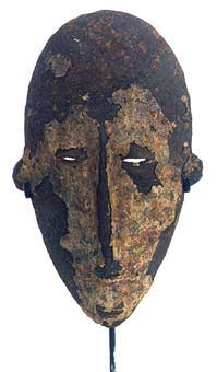 Dogon Iron Face Mask