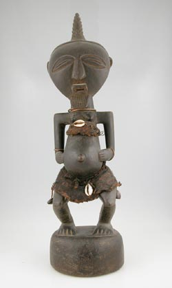 Songye Bishimba Fetish Sculpture