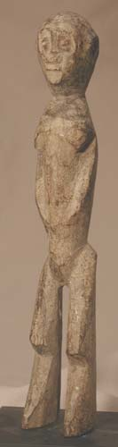 Lobi Wooden Bateba Sculpture of a Woman