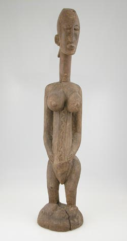 Dogon Wooden Sculpture of a Woman