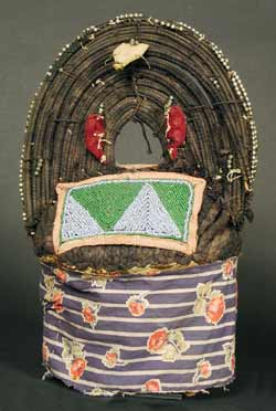 Yoruba Queen Mother's Beaded Crown