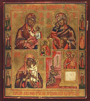 Four Representations of the Mother of God