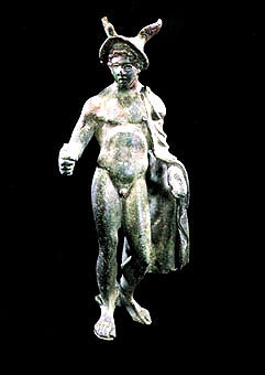 Greco-Roman Bronze Sculpture of Hermes