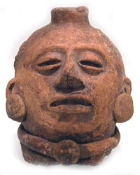 Mayan Sculptural Fragment of a Head