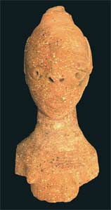 Nok Terracotta Bust of a Woman