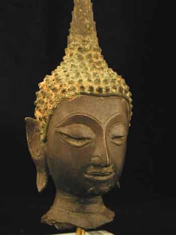 Ayutthaya Bronze Head of the Buddha