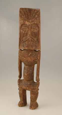 Lobi Wooden Anthropomorphic Spoon