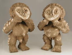 Mambila Terracotta Couple