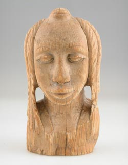 Malinke Ivory Bust of a Woman