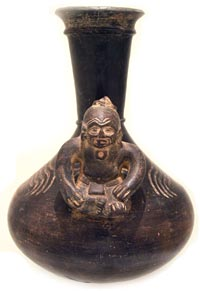 Olmecoid Terracotta Vessel